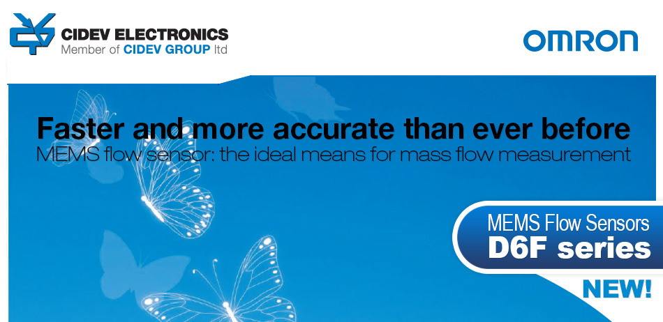 Faster than ever -Omron Flow sensor