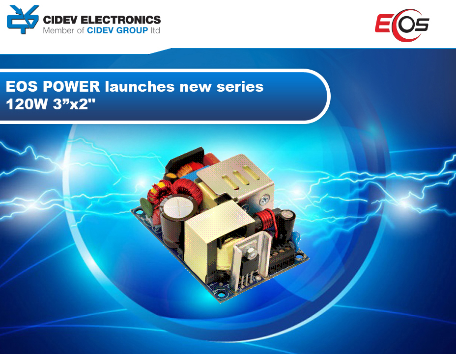 "EOS POWER launches new series 120W 3"" x 2"""