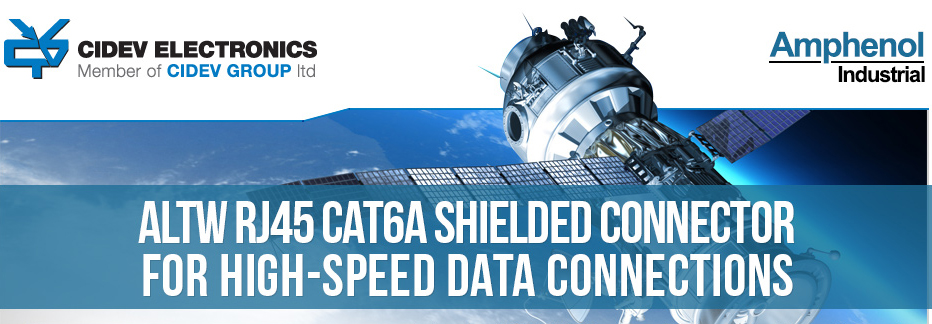 CIDEV presents Amphenol's shielded connector for high speed data connections
