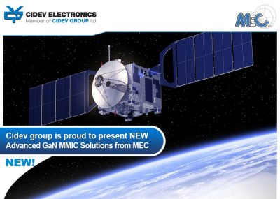 CIDEV Group is proud to present NEW Advanced GaN MMIC Solutions from MEC