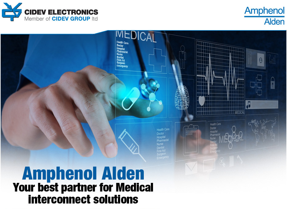 Amphenol Alden – your best partner for Medical interconnect solutions