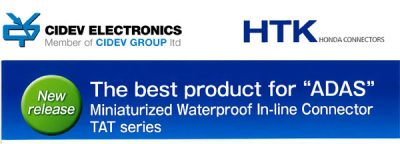 CIDEV IS PROUD TO ANNOUNCE THAT IT HAS BEEN APPOINTED BY HONDA CONNECTORS AS AN OFFICIAL DISTRIBUTOR