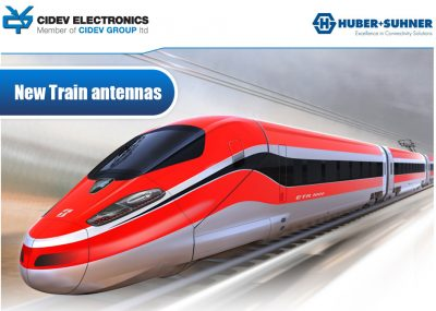 HUBER+SUHNER New Train antennas