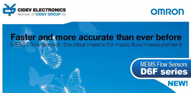 Faster than ever -Omron Flow sensor
